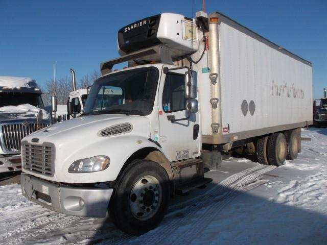 2007 FREIGHTLINER M2 TANDEM AXLE REEFER TRUCK