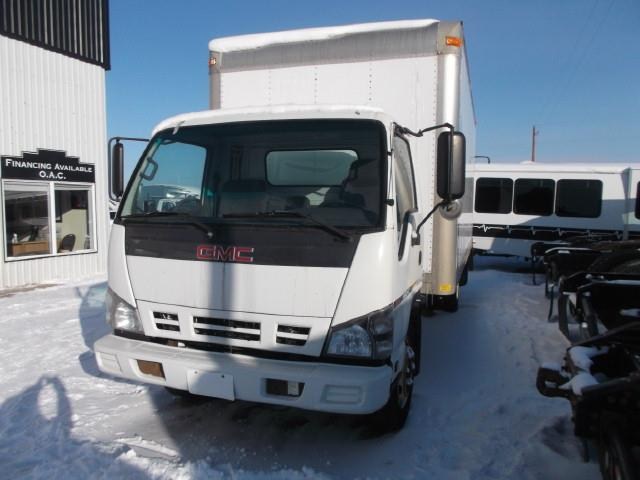 2007 GMC 5500HD VAN BODY TRUCK