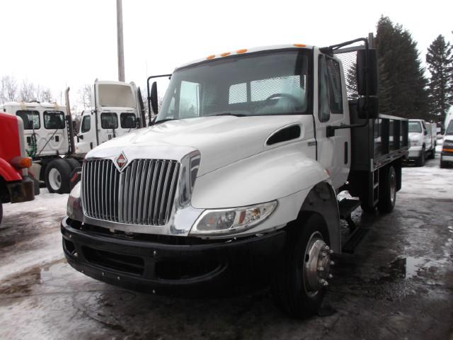 2008 INTERNATIONAL 4300 S/A LANDSCAPER/GRAVEL TRUCK