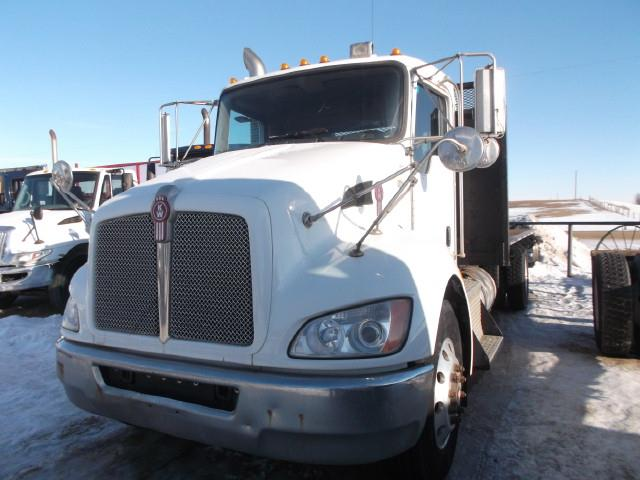 2009 KENWORTH T370 DECK TRUCK