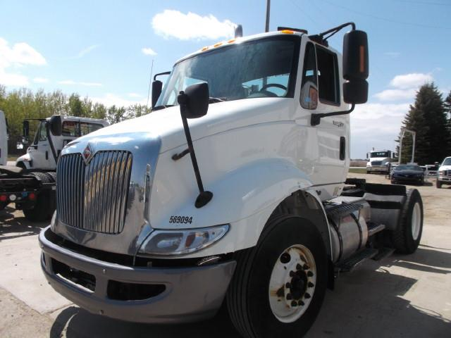 2010 INTERNATIONAL TRANSTAR 8600 SINGLE AXLE 5TH WHEEL