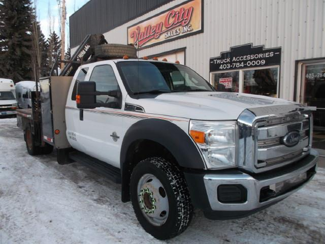Image #1 (2012 FORD F550 XLT SD PICKER TRUCK)