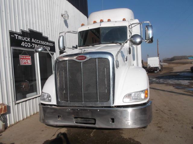 2013 PETERBILT 386 5TH WHEEL SLEEPER TRUCK
